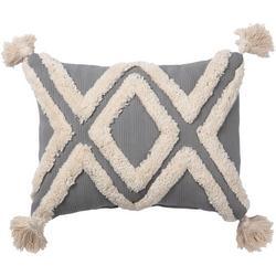 Textured Duplex Decorative Pillow