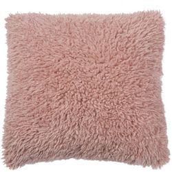 Brentwood Ruffled Faux Fur Plush Decorative Pillow