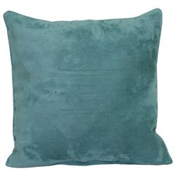 Faux Suede Decorative Throw Pillow