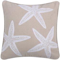 Levtex Home Starfish Applique Decorative Pillow