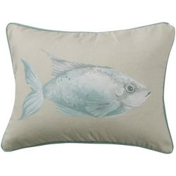 Levtex Home Watercolor Fish Decorative Pillow