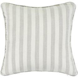 Saltwater Home Vertical Stripe Decorative Pillow
