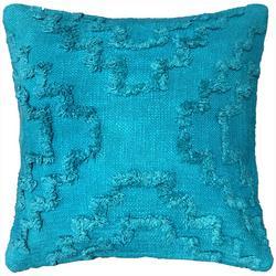 Tufted Geometric Decorative Pillow