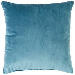 Velvet Solid Decorative Pillow
