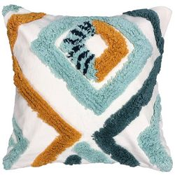 Harper Lane Abstract Tufted Throw Pillow