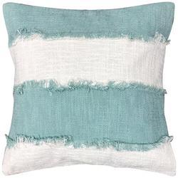 Horizontal Wide Stripe Decorative Pillow