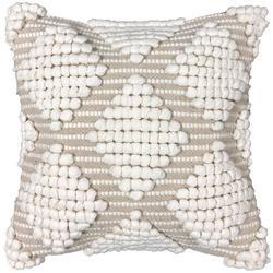 Diamond Tufted Decorative Pillow