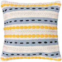 Harper Lane Braided Tufted Decorative Pillow