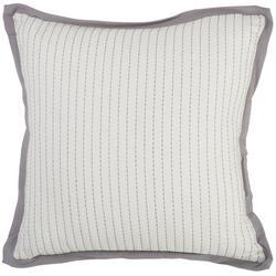 Stitched Decorative Pillow