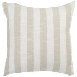 Slub Stripe Decorative Pillow