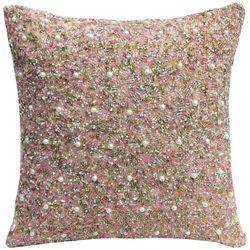 Coastal Home Mix Beaded Decorative Pillow
