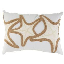Starfish Trio Decorative Pillow