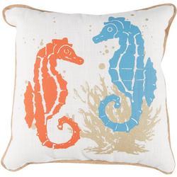 Seahorse Dance Decorative Pillow
