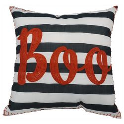 Arlee Boo Stripe Decorative Pillow