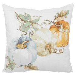 Arlee Watercolor Pumpkins Decorative Pillow