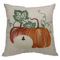 Arlee Pumpkin Trio Decorative Pillow