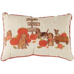 Pumpkin Patch Decorative Pillow