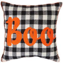 Arlee Boo Checkered Decorative Pillow