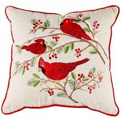 Arlee Cardinal Christmas Decorative Pillow
