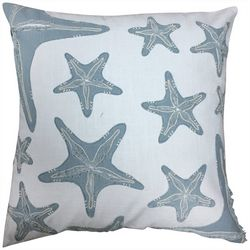 Satvik Starfish Embroidered Decorative Pillow