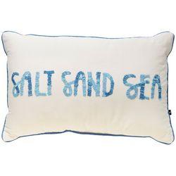Satvik Salt Sand Sea Decorative Pillow