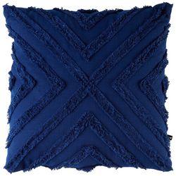 Satvik Cross Tufted Decorative Pillow