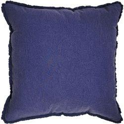 Cosmic Solid Fringe Decorative Pillow