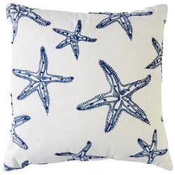 Cosmic Starfish Stitched Decorative Pillow