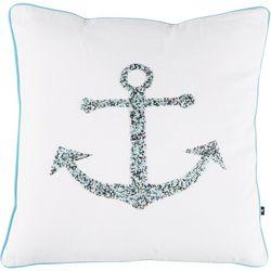 Satvik Anchor Beaded Decorative Pillow