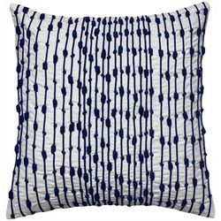 Satvik Nautical Knots Embroidered Decorative Pillow