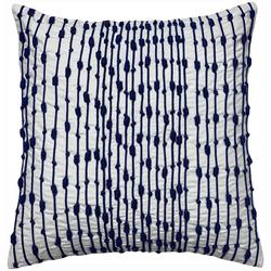 Nautical Knots Embroidered Decorative Pillow