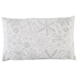 Vedia Snow Embroidery Pillow