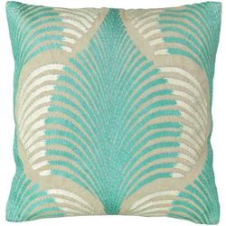 Mod Lifestyles Palm Decorative Pillow