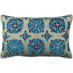 Mod Lifestyles Moroccan Embroidered Decorative Pillow