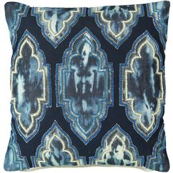 Mod Lifestyles Moroccan Tie Dye Decorative Pillow