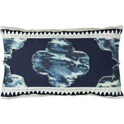 Mod Lifestyles Marrakech Tie Dye Decorative Pillow