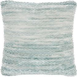 Seafoam Ruffle Decorative Pillow