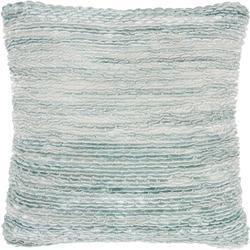 Seafoam Ruffle Decorative Pillow