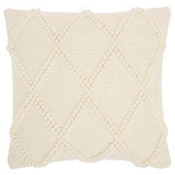 Mina Victory Diamond Loop Decorative Pillow