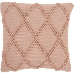 Diamond Pom Pom Decorative Pillow