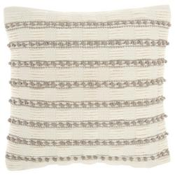 Striped Knot Decorative Pillow