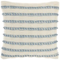 Mina Victory Striped Knot Decorative Pillow