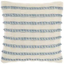Striped Knot Decorative Pillow