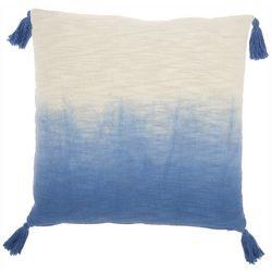 Nourison Ombre Tassel Decorative Pillow