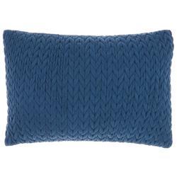 Sweater Knit Decorative Pillow