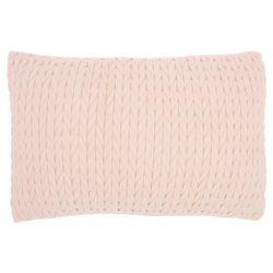 Mina Victory Sweater Knit Decorative Pillow