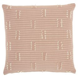 Mina Victory Striped Stitch Decorative Pillow
