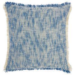 Mina Victory Fringe Border Decorative Pillow