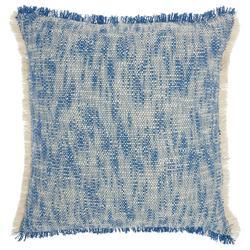 Fringe Border Decorative Pillow