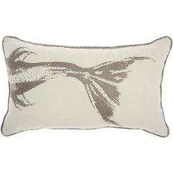 Mina Victory Metallic Fish Decorative Pillow